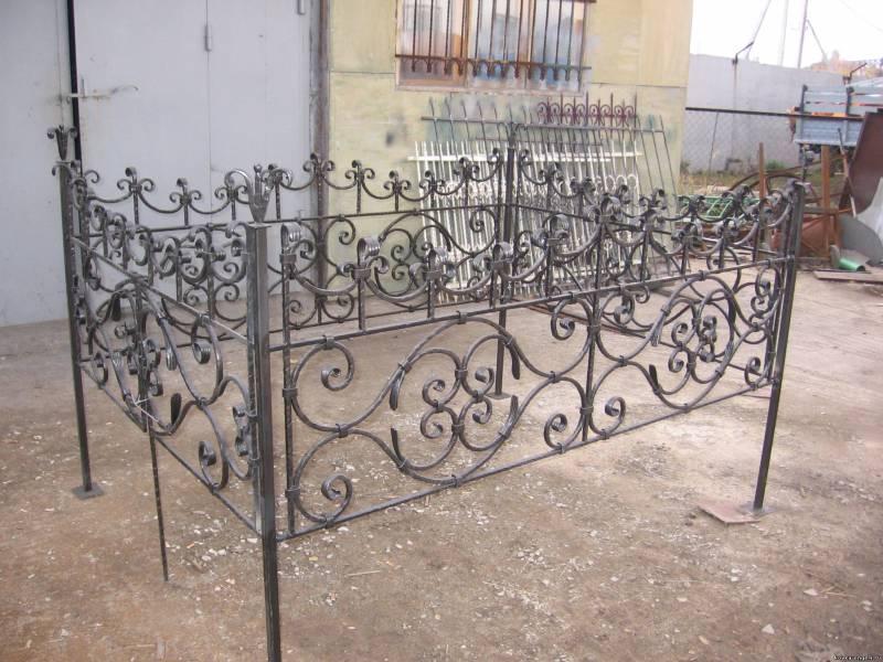 кованые ограды (36)