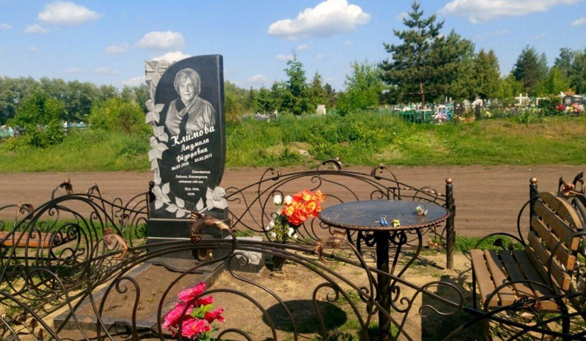 Резные памятники Щигры Лампадка из габбро-диабаза Ялуторовск